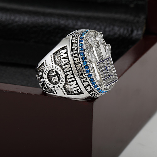 2011 New York Giants XLVI Super Bowl Football Championship Ring Size 10-13 With High Quality Wooden Box Fans Best Gift(China (Mainland))