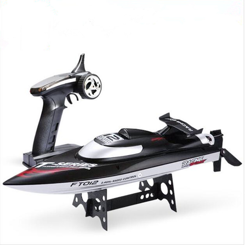2016 FT012 2.4G RC Boat 150M Remote Brushless Motor Max Speed 45KM/H Strong Motor Racing Boat Water Cooling System Anti-Capsize<br><br>Aliexpress