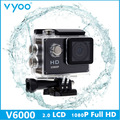 Hot Sale vyoo Brand V6000 2 0 inch 1080P HD Waterproof Camera 140 Degree Wide Angle