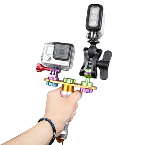 Original TMC 9 in 1 Aluminum CNC Module Mounting Set Holder Tripod for GoPro Hero4 3+ 3 SJ4000 Accessories Xiaomi Yi Camera<br><br>Aliexpress