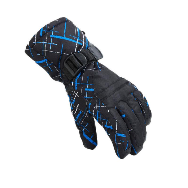 Dropshipping free shipping man winter sport windproof waterproof -30 warm riding gloves snowboard Motorcycle gloves ski gloves(China (Mainland))
