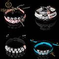 New Bracelets bangles bracelets for women Couple His Hers lock key bracelet Charm Bracelets Lover Valentine