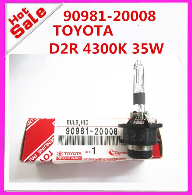 HIGH quality 90981-20008 9098120008 D2r 4300K 35W Lexus HID Headlight Bulb ,Xenon Hid Bulb D2r 4300K 35W(China (Mainland))