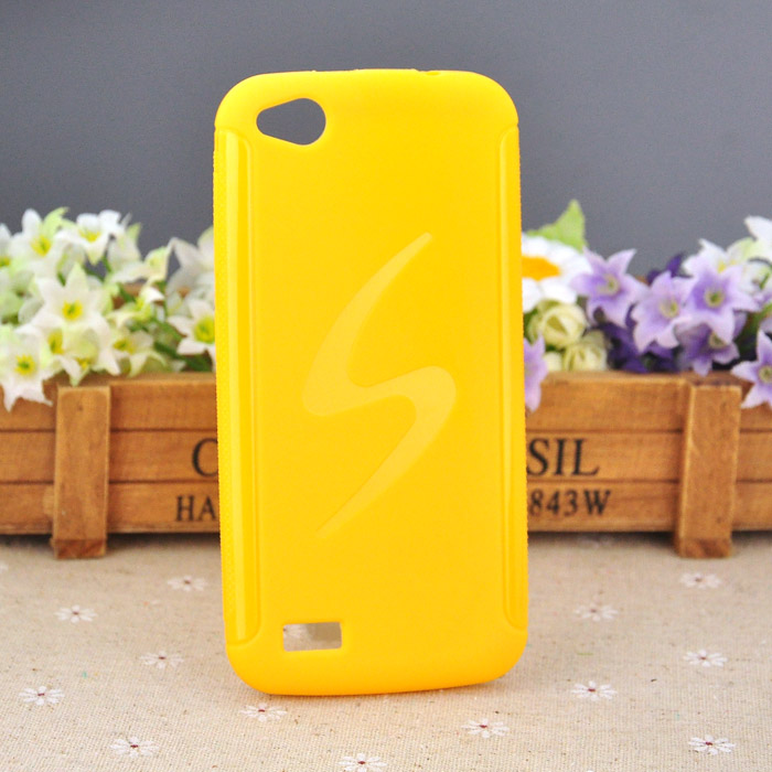 High Quality Best Price TPU Gel Phone Case For General Mobile DISCOVERY Cell Phone Cover Anti-Skid Wave S Style free shipping(China (Mainland))