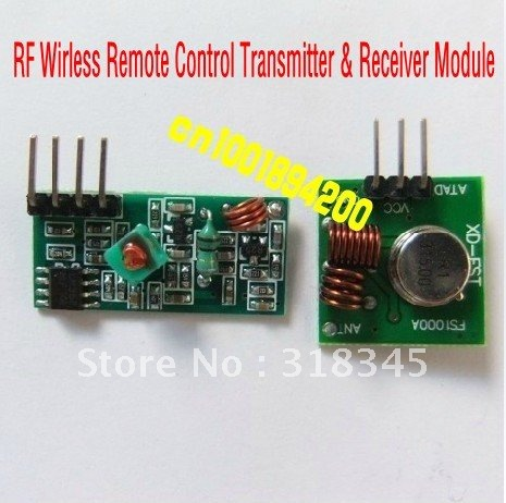 RF wireless receiver module &amp; transmitter module board Ordinary super- regeneration 315/433MHZ DC5V (ASK /OOK) 10Unit/Lot<br><br>Aliexpress
