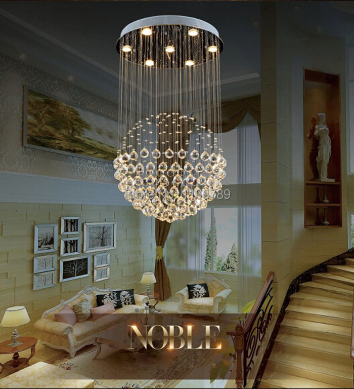 Product ID 2025785769 Modern LED Crystal Chandelier Living Room