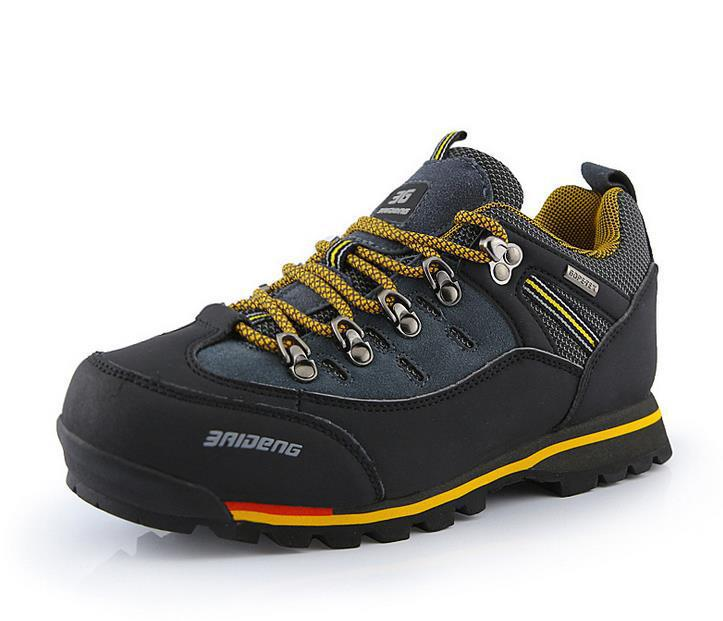 new 2015 hiking shoes non slip waterproof trek