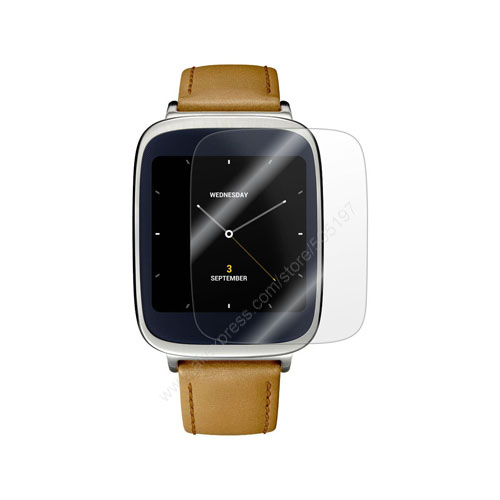 2016 NEW Ultra Slim Film Guard for <font><b>Asus</b></font> ZenWatch Wrist Unit Clear Skin Cover <font><b>Smart</b></font> <font><b>Watch</b></font> Screen Protector HD Front Shield