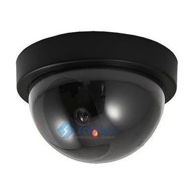 Indoor Outdoor Surveillance Dummy Ir Led Wireless Fake Dome Camera Home CCTV Security Camera Simulated monitoring equipment(China (Mainland))