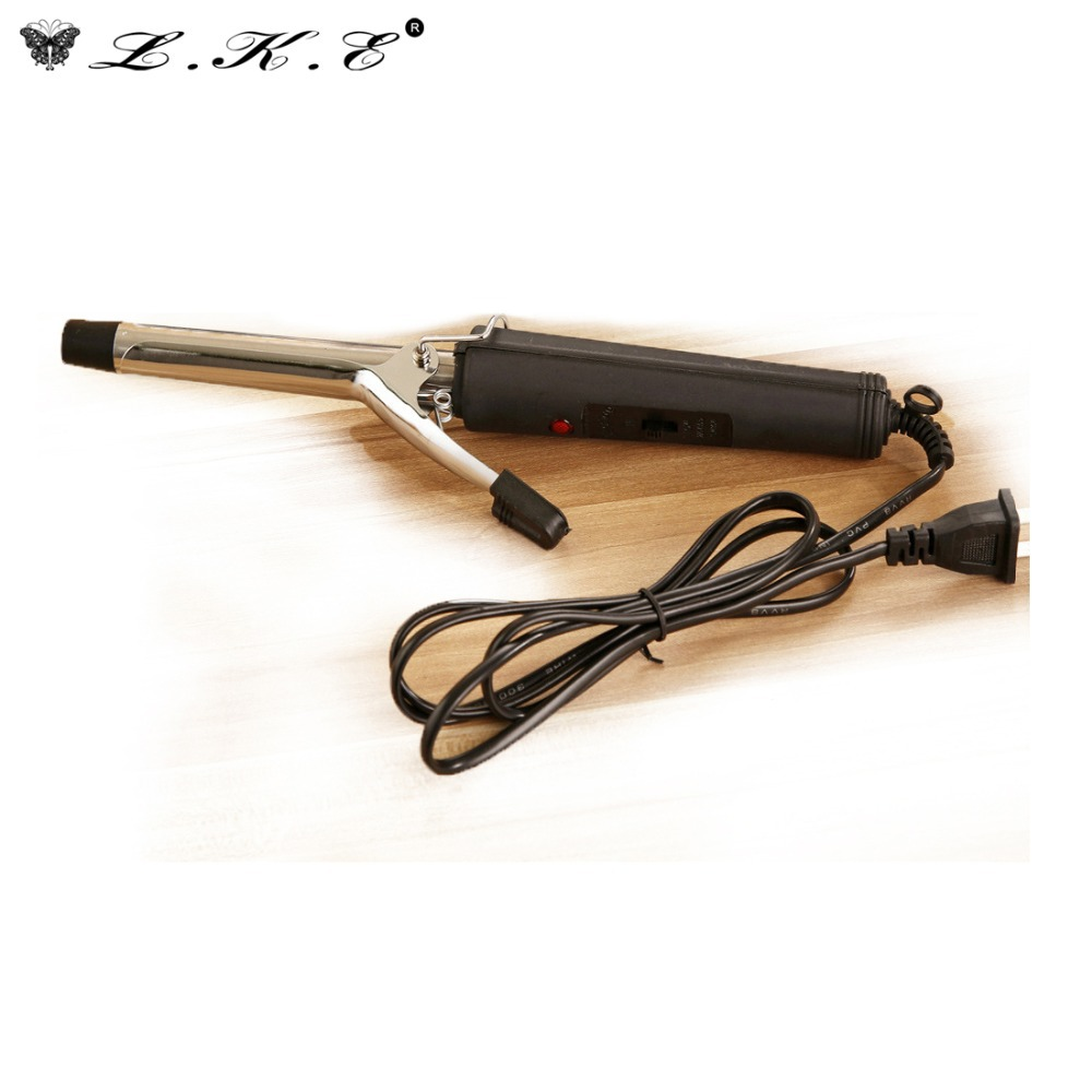 LKE Hair Curling Wand Curling Irons Electronic Wand Curler Crimper Styling Tools Hairstyles Products Items Accessories Supplies(China (Mainland))