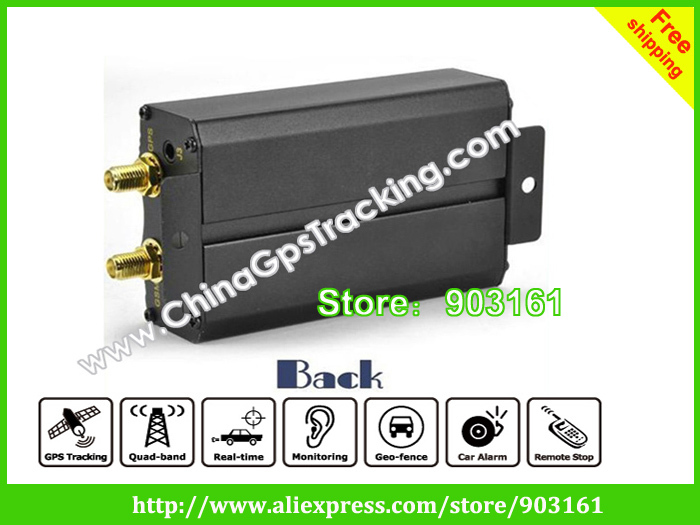 dhl free shipping vehicle gps tracking system tk103 sirf3 chip 800mah in gps trackers from. Black Bedroom Furniture Sets. Home Design Ideas