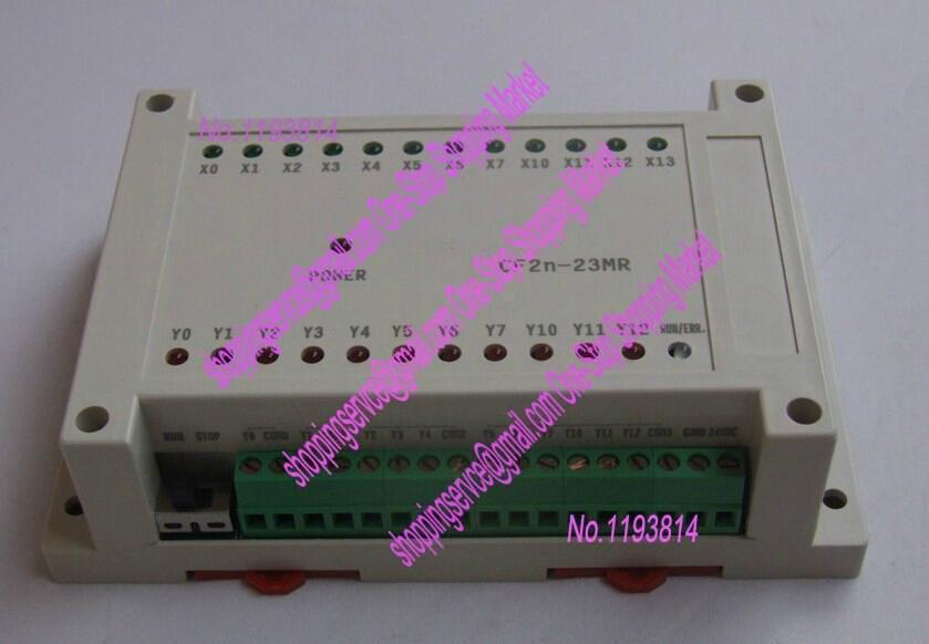 23MR 12 input/11 relay output,PLC with RS232 cable by Mitsubishi FX2N GX Developer ladder<br><br>Aliexpress