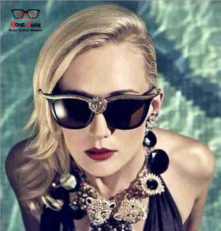 New Flower Alloy Frame Sunglasses Women Brand Designer Innovative Items oculos de sol Women's Sun Glasses Cycling Eyewear(China (Mainland))