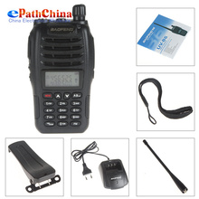 BaoFeng UVB6 New Digital Walkie Talkie Intercom Interphone 136-174/400-470MHz Dual Band Two Way Radio Transceiver,Free Shipping