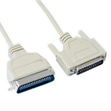 Original parallel printer cable old fashioned printer line db25 needle 1284 overstretches 1.5 meters 5 meters