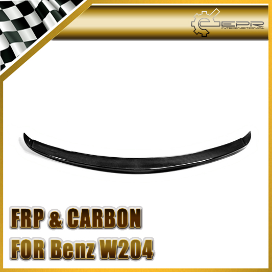 Car Styling For Mercedes-Benz C-Class W204 Carlsson Style Carbon Fiber Trunk Spoiler<br><br>Aliexpress