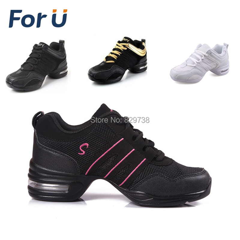 New 2015 Dance shoes women Jazz Hip Hop Shoes salsa sneakers for woman size 41 42 big size dance shoes(China (Mainland))