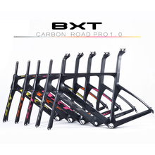 Buy 2016 carbon road frame BXT Di2 Carbon Road Bicycle Frame Super Light Frame+Fork+headset Chinese cheap bike frame bicycle parts for $399.20 in AliExpress store
