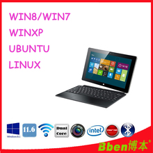 Free shipping ! 11.6 inch windows 8 tablet pc made in china with keyboard 3G phone call tablet pc dual core