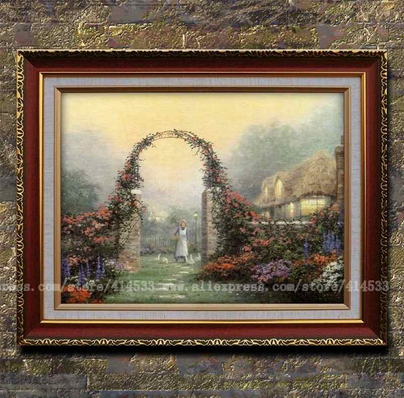 Popular modern arbor buy cheap modern arbor lots from china modern arbor suppliers on for Home interiors thomas kinkade prints