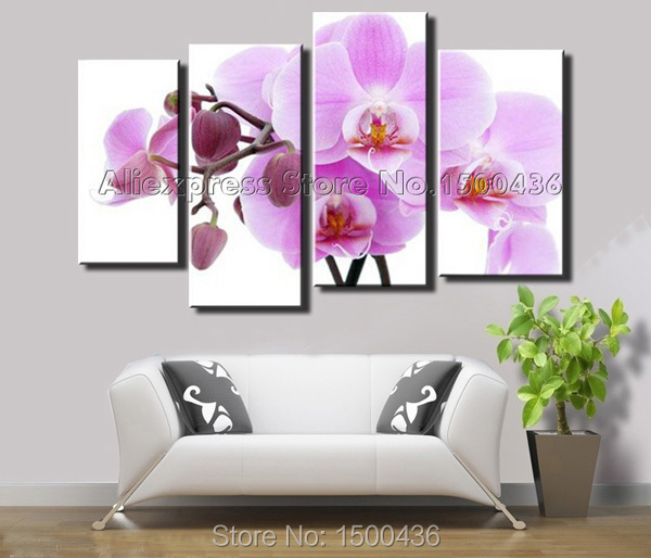 Purple Orchid Wall Art images