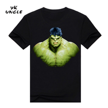2016 Summer Men T Shirt Superman Hulk 3D Printed Men's Short Sleeve Tights T-shirt Male Fitness Sport Top Gym Clothes,YK UNCLE - China YK Trade co., LTD store