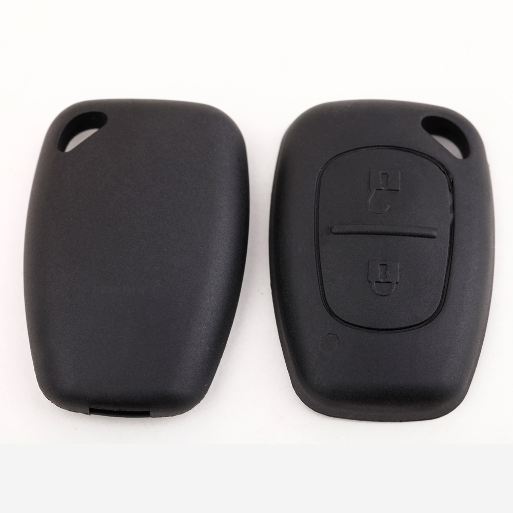 2 Button Remote Uncut Blade Car Key Case for Renault Replacement Flip Fob Car Key Shell Key Cover NO Chip(China (Mainland))