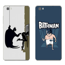 Huawei Honor 5C 7 7I Phone Case P8 P9 Lite Plus G9 Shell Mate 8 Transparent Cover Soft Silicon Dark Knight Pattern - WISAP-IColorCase Store store