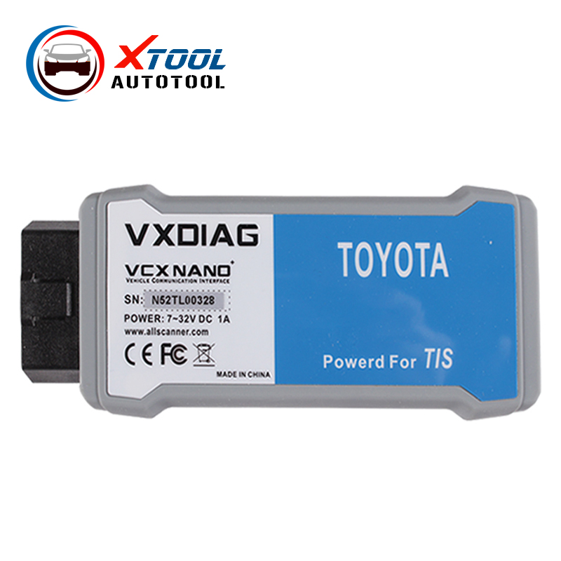 2016 VXDIAG VCX NANO for TOYOTA TIS Techstream V10.10.018 Compatible with SAE J2534 VXDIAG Toyota Diagnostic free shipping(China (Mainland))