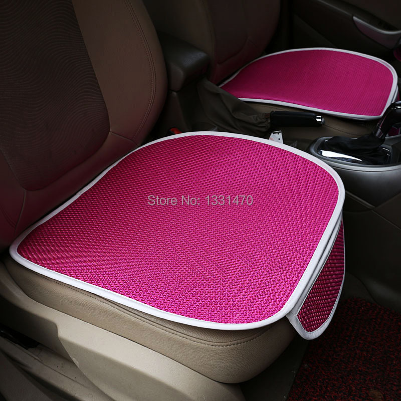 NEW High Quality Personality Colorful Car Cushion Seat Covers For toyota Audi Volkswagen Most of Cars Fee Shipping(China (Mainland))