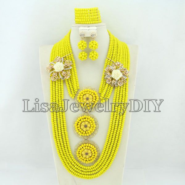 Fashion Bridal Jewelry Set African Beads Jewelry Set Women Wedding Beads Necklace Set   HD2408<br><br>Aliexpress
