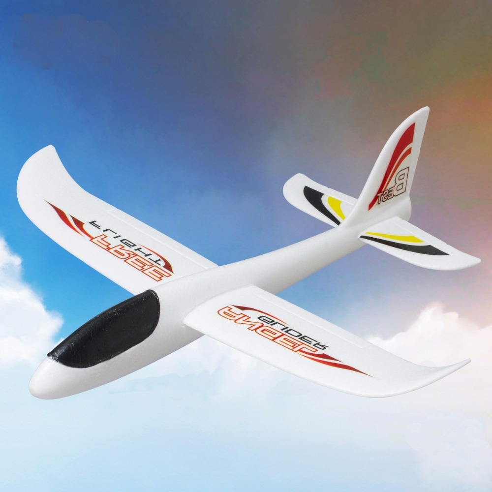 Hand Launch Throwing Glider Aircraft Inertial Foam EVA Airplane Toy Plane Model outdoor fun sports(China (Mainland))