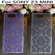 DIY Hard Plastic Phone Cases Sony Xperia Z3 Compact Mini Z3C D5803 M55W D5833 Covers Vintage Paisley Flower Floral Shell - ShenZhen T&P Technology Co., LTD store