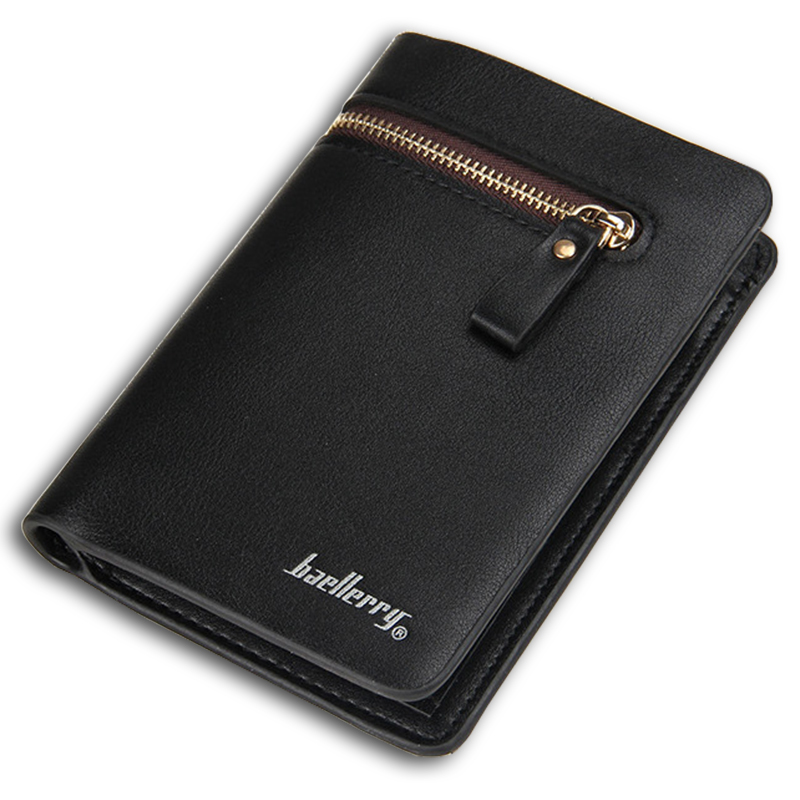 Best Quality wallet men leather medium-long purse male multifunctional wallets trifold money bag coin pocket(China (Mainland))