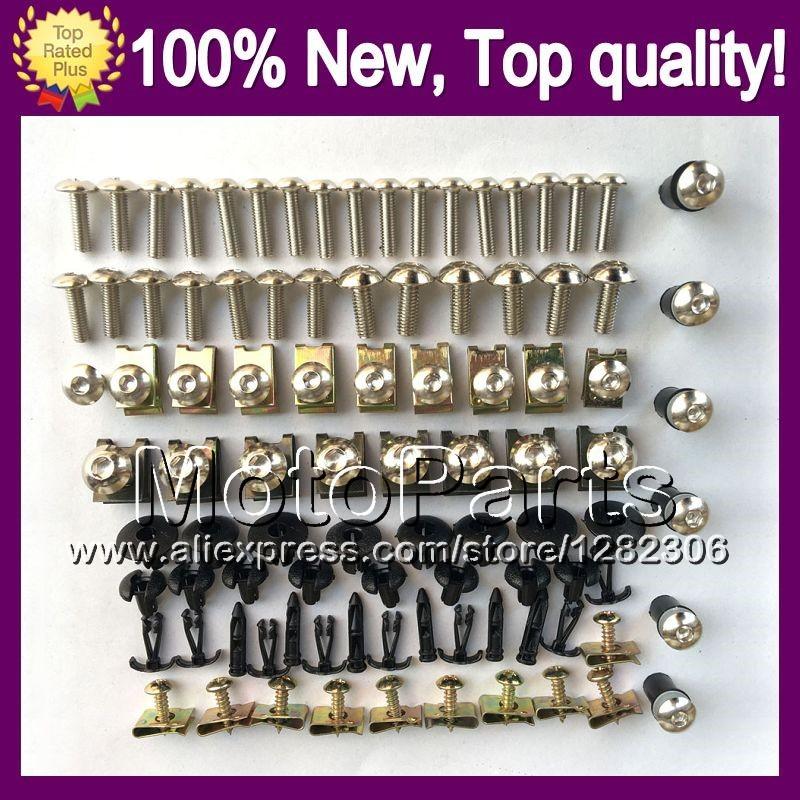 Fairing bolts full screw kit For HONDA CBR250R MC41 11-13 CBR 250R 11 13 CBR250 R 11 12 13 2011 2012 2013 2F201 Nuts bolt screws