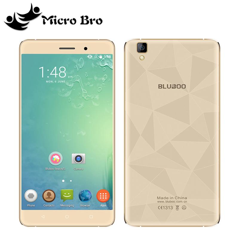 Original Bluboo Maya 3G WCDMA MTK6580A Quad Core 1.3GHz Android 6.0 5.5''HD 1280x720P 2GB RAM 16GB ROM 13MP CAM Mobile Phone(China (Mainland))