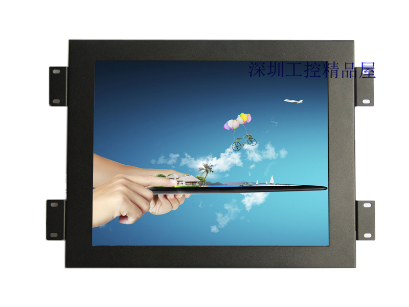 10.4 inch touchscreen monitor with speaker industrial monitor with 4-wire touchscreen & front panel waterproof(China (Mainland))
