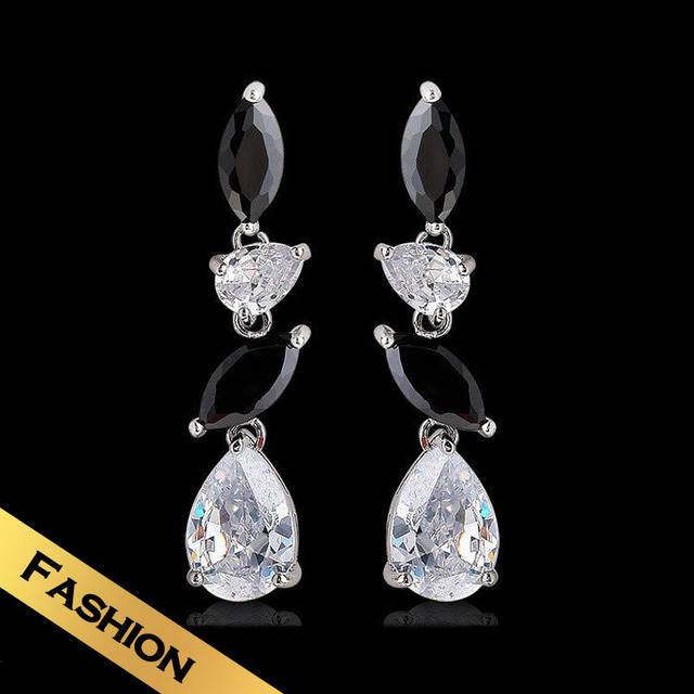 Special Stud Earrings Synthetic Zircon Fashion Colorful Design Free Shipping Jewelry EHG8B01