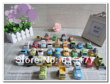 35PCS/lot Pull Back Car Toys Children Racing Car Toys Baby Mini Cars Police car Fire Truck Free Shipping(China (Mainland))