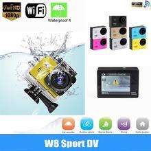 Action Camera SJ4000 Waterproof WIFI Sport Cam Full HD 1080P Video Bike Helmet Action Cameras blue Camcorder Mini For GoPro