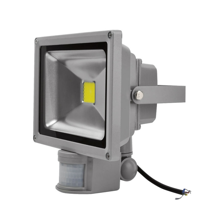 cool white pir motion sensor 20w led flood light outdoor security lamp. Black Bedroom Furniture Sets. Home Design Ideas