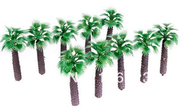 ho Scale Palm Trees Hot Sale 50mm Scale Palm Tree