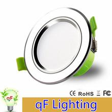Super Bright LED Downlight 3W 5W 7W 9W 12W 15W 18W 21W AC200-240V Led Ceiling Recessed lamp bulbs Spot light lighting - Shenzhen Qifeng Lighting Co., Ltd Store store