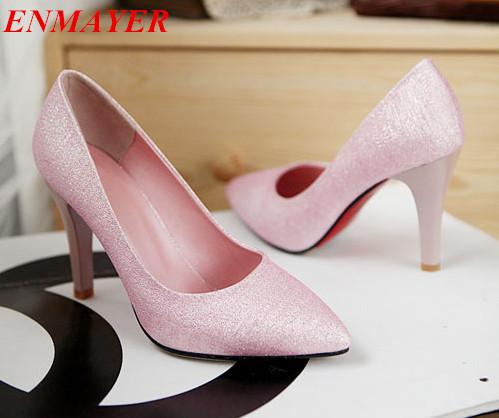 Здесь можно купить  ENMAYER 2015 new fashion heels for women
