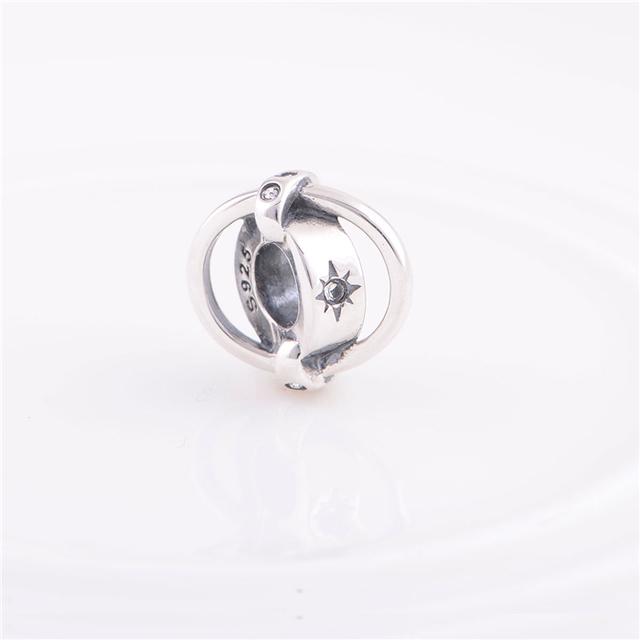 Мода стерлингового серебра 925 бусины оригинальный подвески женщины ювелирные изделия DIY подходит Chamilia подвески браслет ожерелье