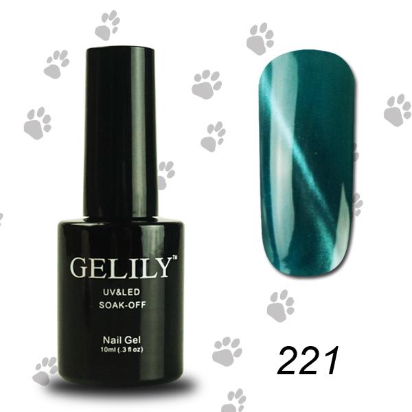 Gado magnetic cat eye gel nail polish 10ml with a free magnet stick 12pcs(China (Mainland))