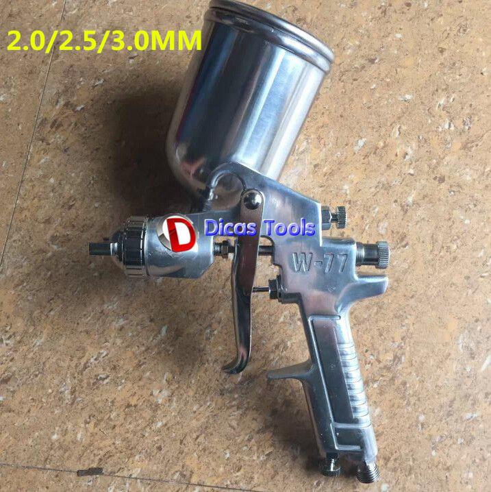 hot selling W-77G 2.0,2.5,3.0 mm nozzle High atomization paint spray gun(China (Mainland))