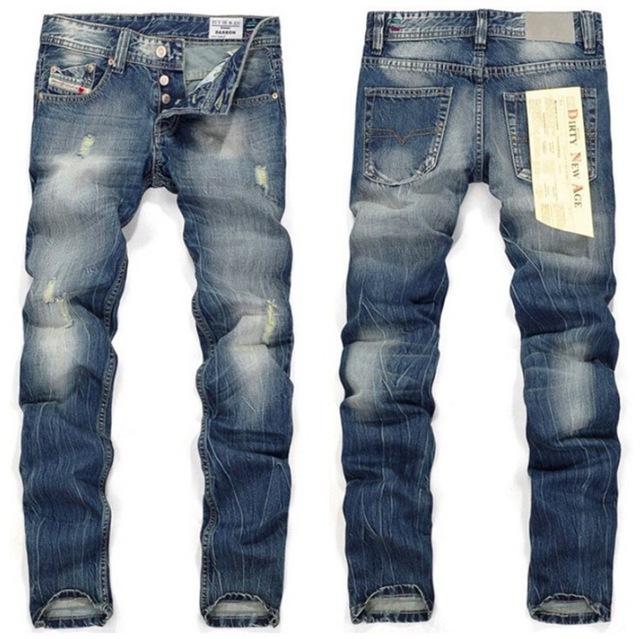 2016 новых классические бекхэм стиль мужчин джинсы джинсы дизайнер мужчины джинсы ...
