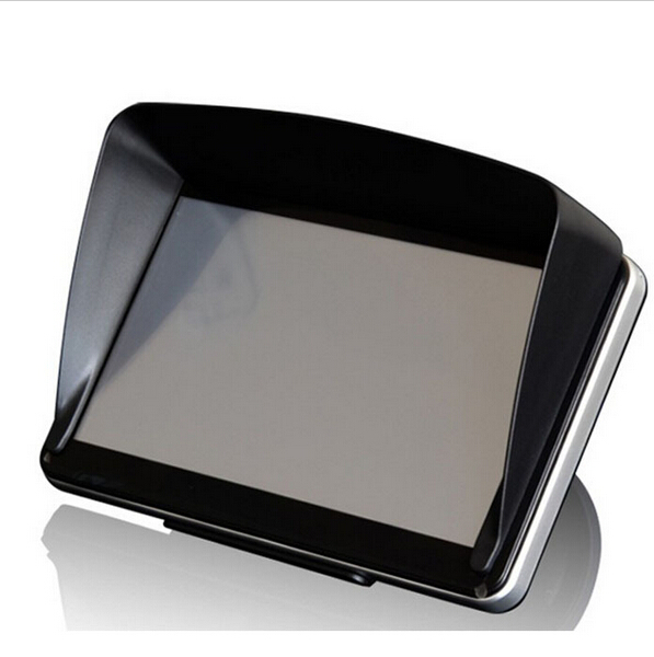 "5 "" Inch Navigation Car GPS Sunshade Anti-glare Accessories parts Sun Shield gps sunshine Umbrella navigator Free shipping(China (Mainland))"