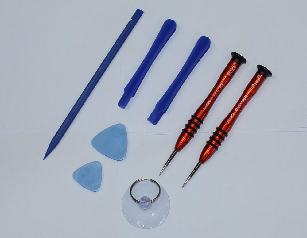 New 8 in 1  multitool Precision screwdriver set opening tool mobile phone repair tool for iphone samsung phones
